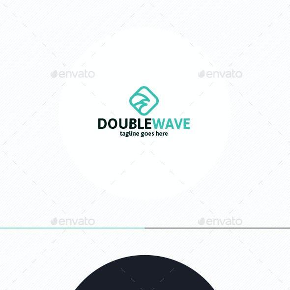 Double Wave Logo