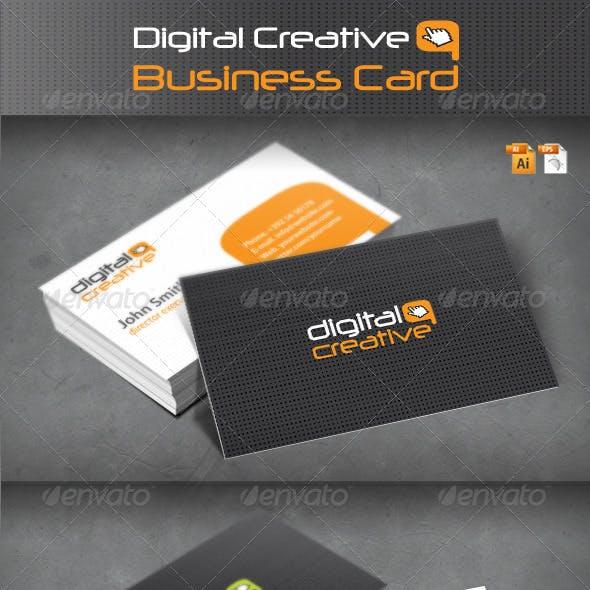 Digital Creative Business Card