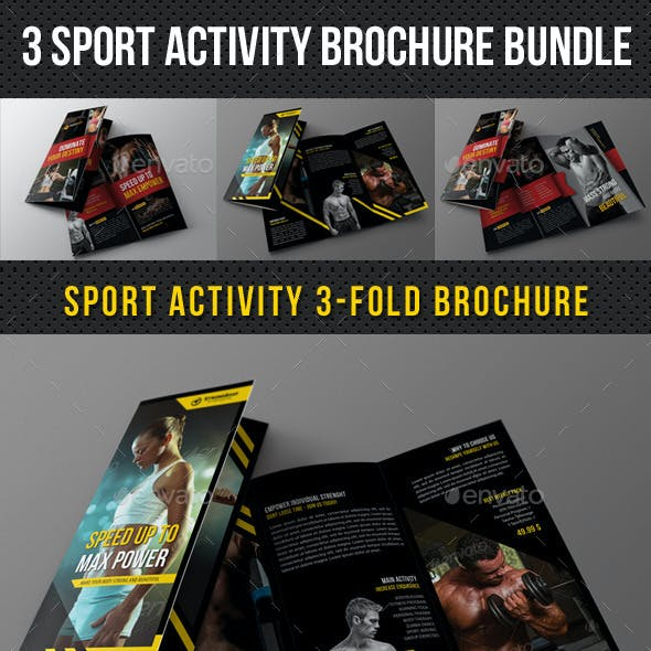 3 in 1 Sport Activity Brochure Bundle