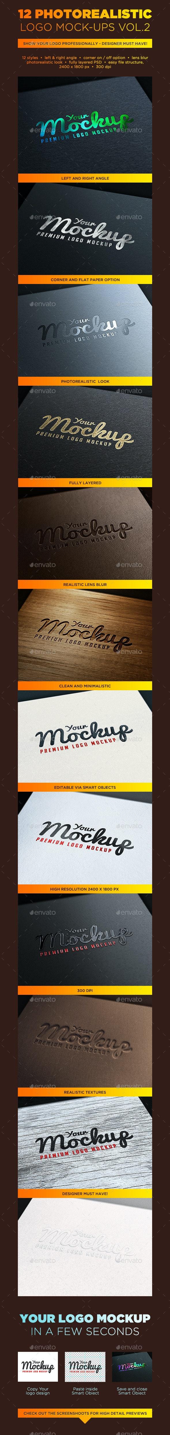 Your Mockup - Logo Mockups VOL.2 - Logo Product Mock-Ups