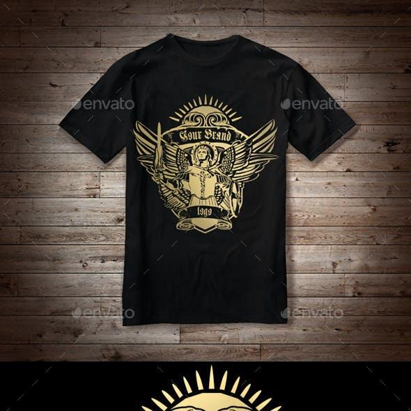 T-Shirt Illustration Angel