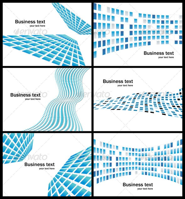 Business abstract background collection - Backgrounds Decorative