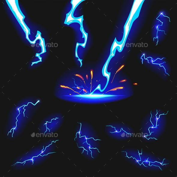 Lightning Flashes Set