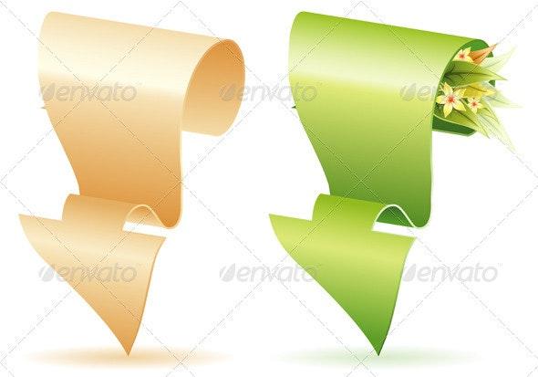 Paper Arrow - Borders Decorative
