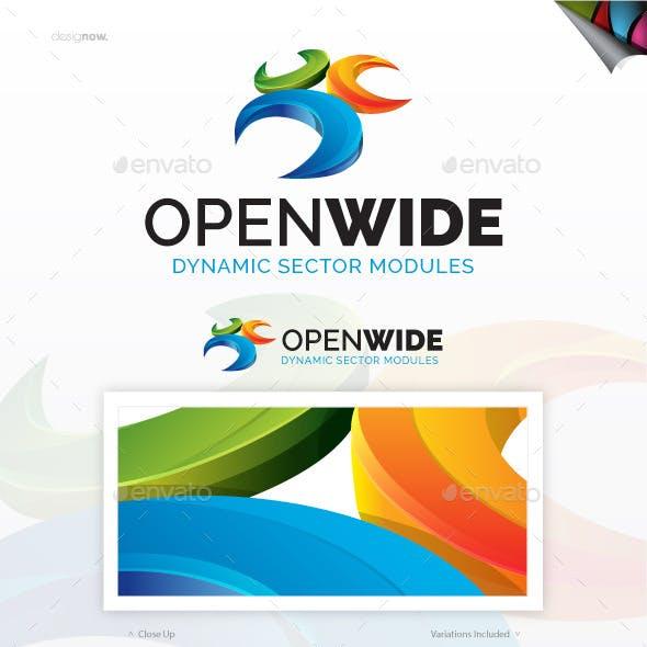 Open Wide Logo