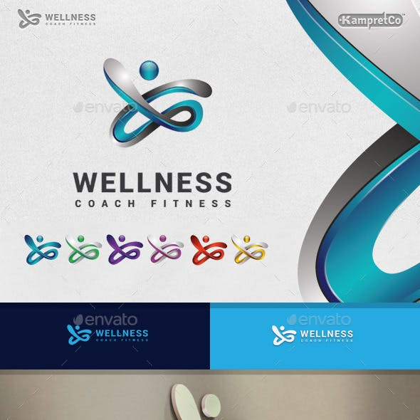 Fitness Wellness Logo