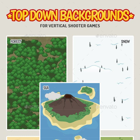 Top Down Game Backgrounds