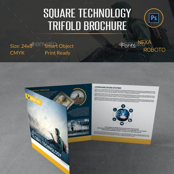 Square Technology Trifold Brochure