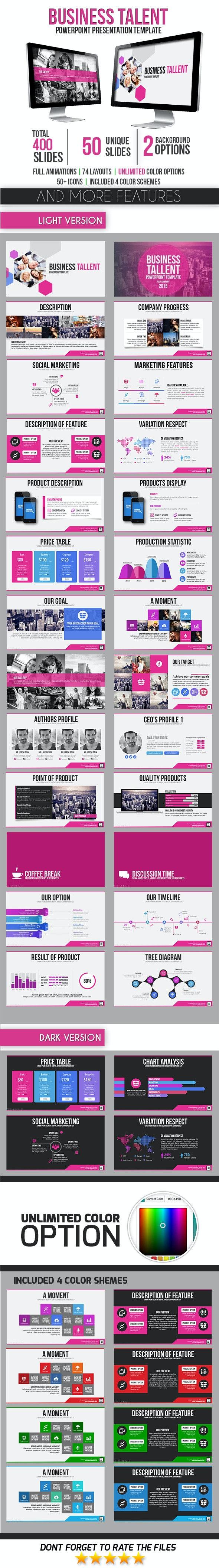 Business Talent - Business PowerPoint Templates