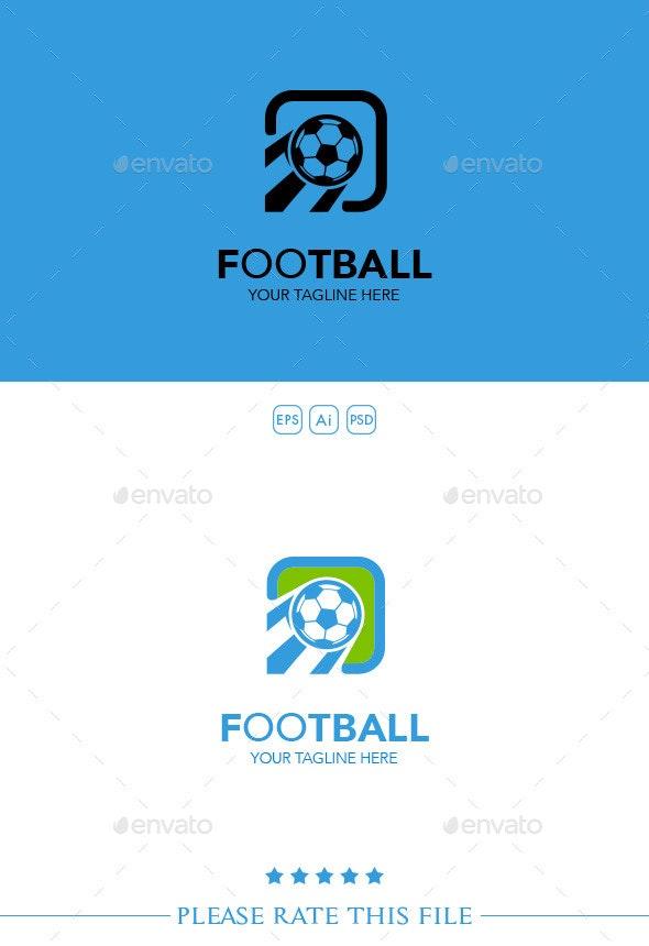 Football Logo - Vector Abstract