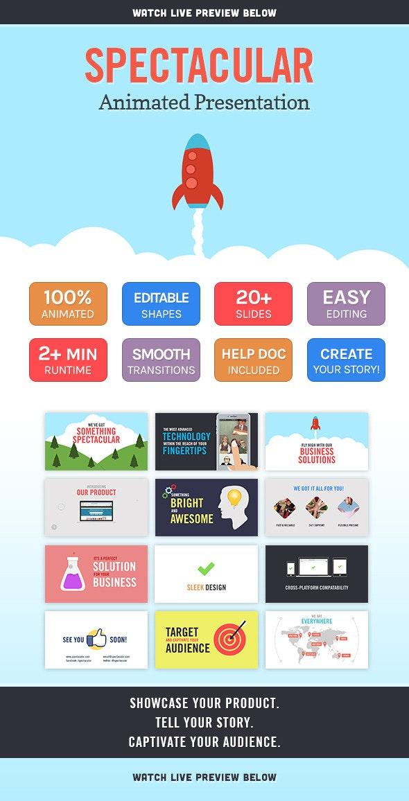 Spectacular Animated Presentation - PowerPoint Templates Presentation Templates