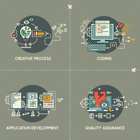 Creativity,Coding,Development,Quality Assurance