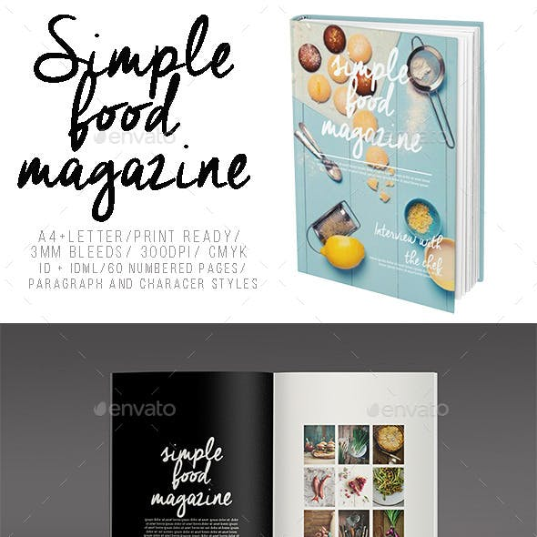 Simple Food Magazine
