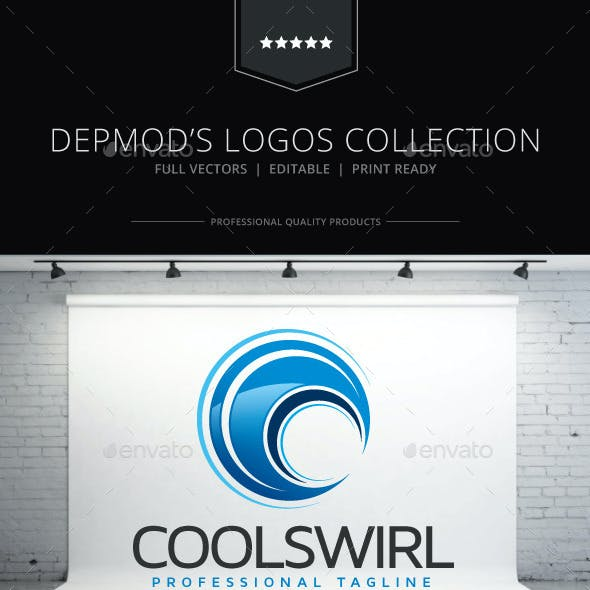 Cool Swirl Logo