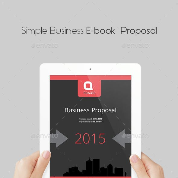 Simple Business E-book Proposal