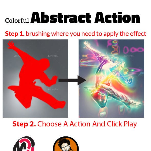Colorful Abstract Action