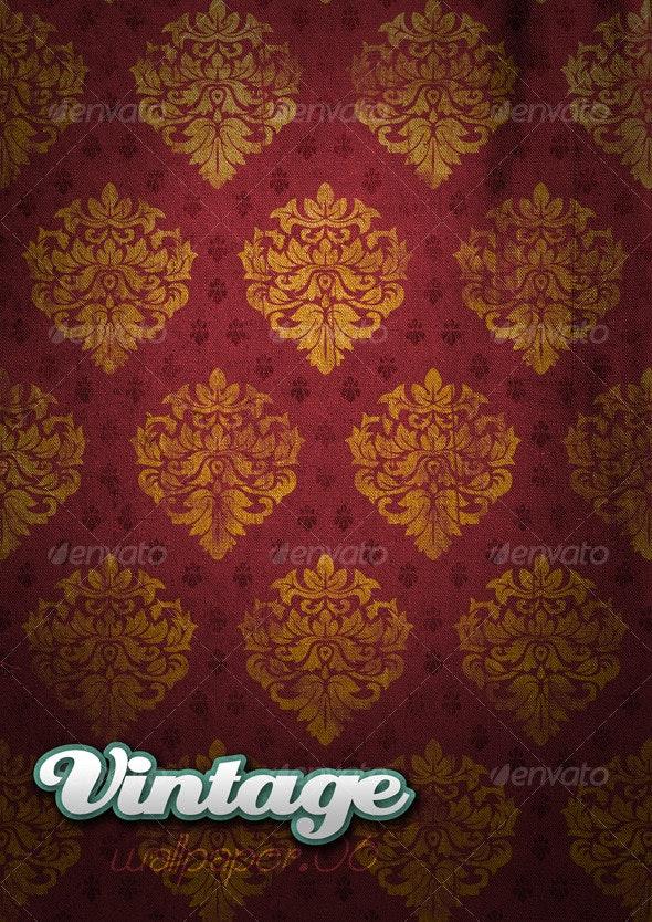Vintage Wallpaper .06 - Patterns Backgrounds