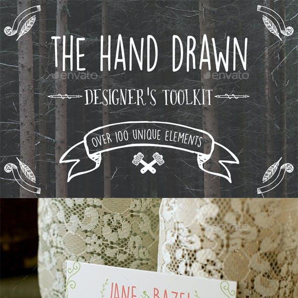 Hand Drawn Designer's Toolkit