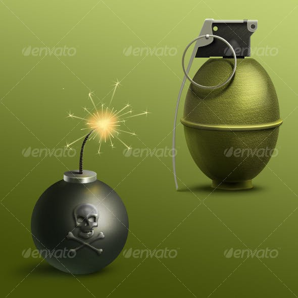 Bomb and Grenade