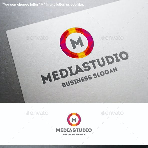 Media Studio Colorful Circle Logo