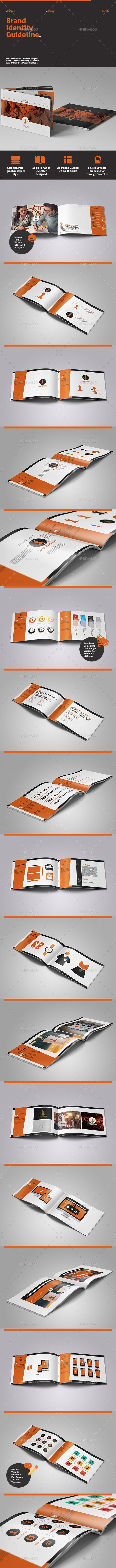 Brand Identity Guidelines - Informational Brochures