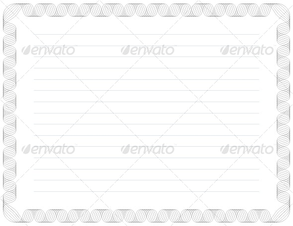Certificate Background II - Backgrounds Decorative