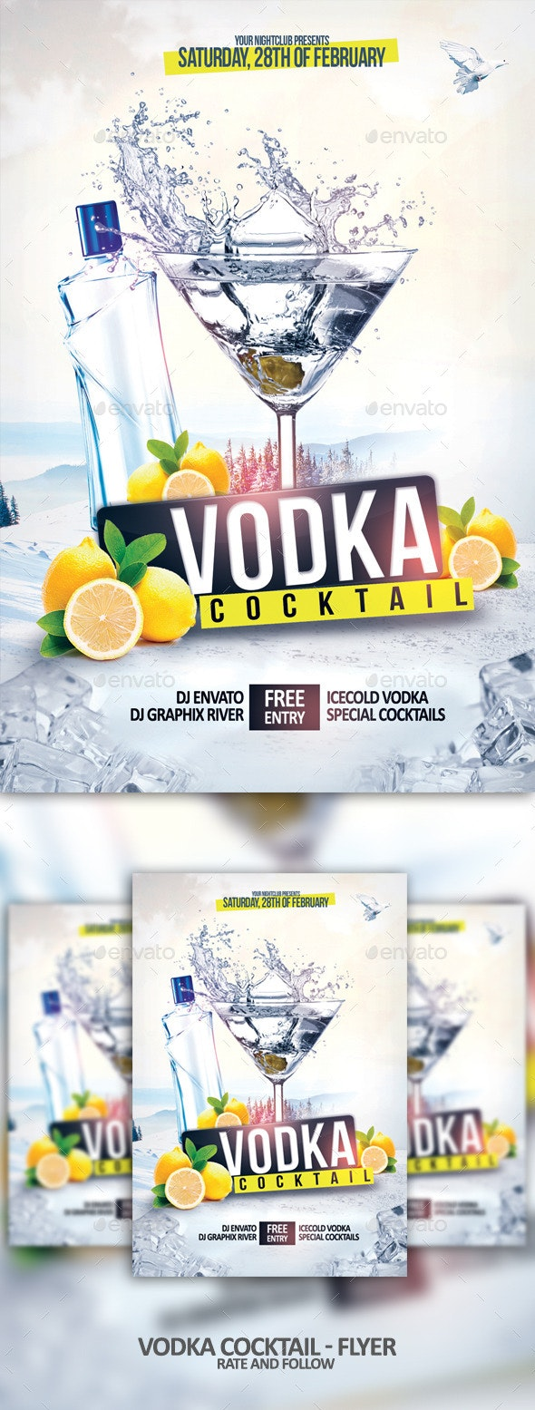 The Vodka Cocktail - Clubs & Parties Events