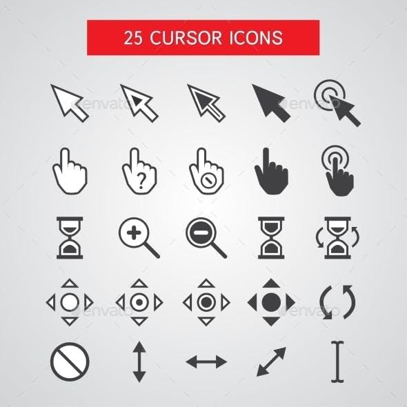 Cursor Icons Set