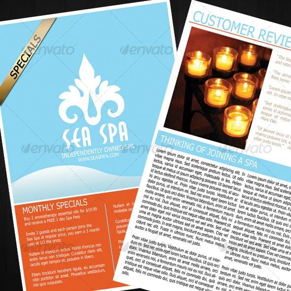 Elegant Spa Newsletter