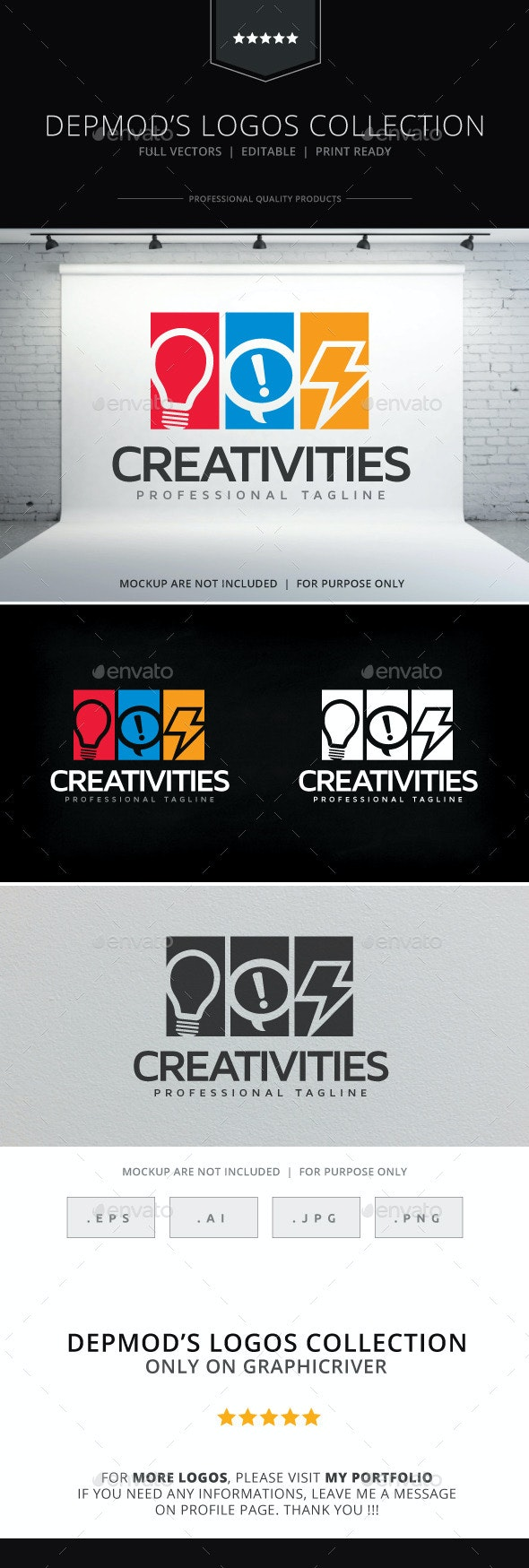 Creativities Logo - Objects Logo Templates