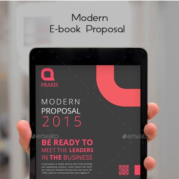 Modern E-book Proposal