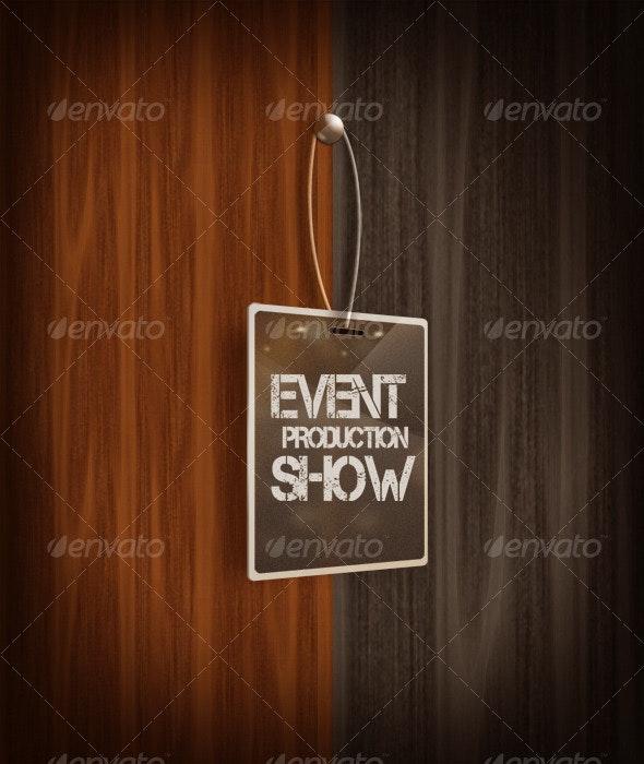 Event Show Badge - Decorative Graphics