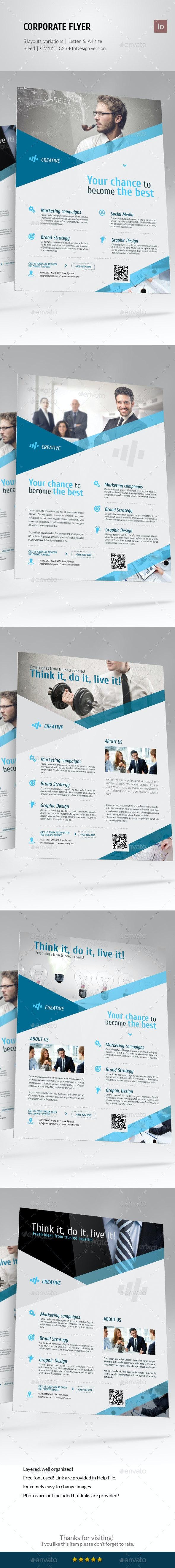 Corporate Business Flyer Set vol 5 - Corporate Flyers