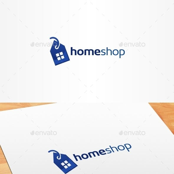 Home Shop Logo Template
