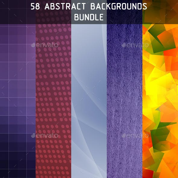 58 Abstract Backgrounds Bundle