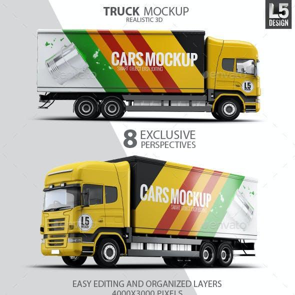 Cargo Truck Mock-Up