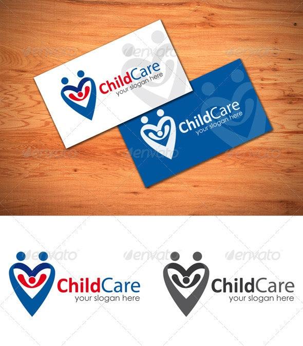 Child Care - Symbols Logo Templates