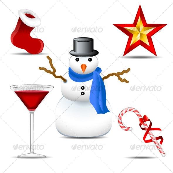 Christmas Icons 2 - Seasons/Holidays Conceptual