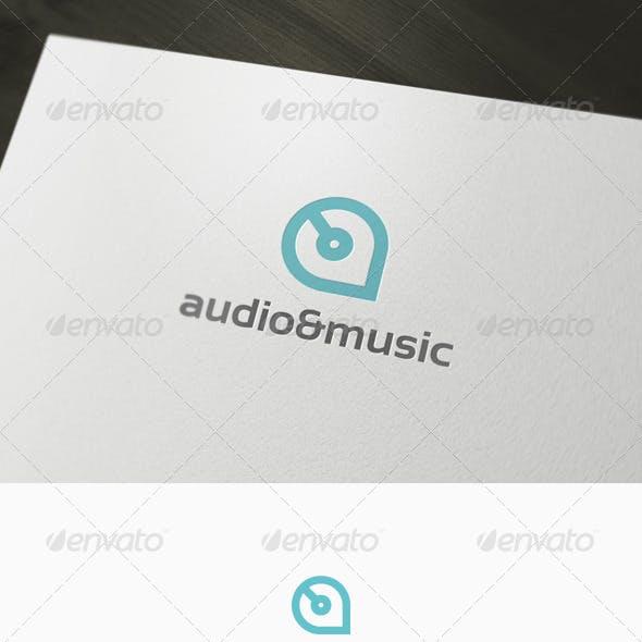 Audio & Music Logo
