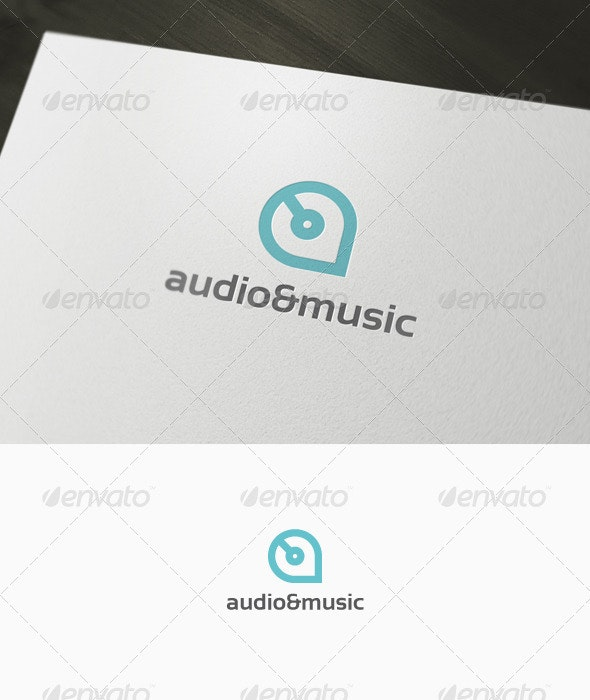 Audio & Music Logo - Letters Logo Templates