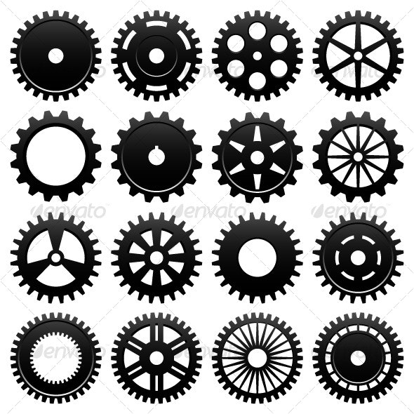 Machine Gear Wheel Cogwheel - Industries Business