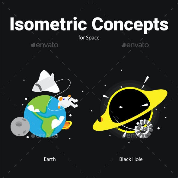 Isometric Concepts for Space