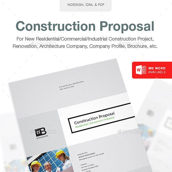 Clean Construction Proposal