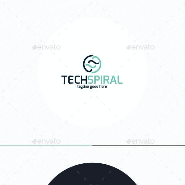 Tech Spiral Logo