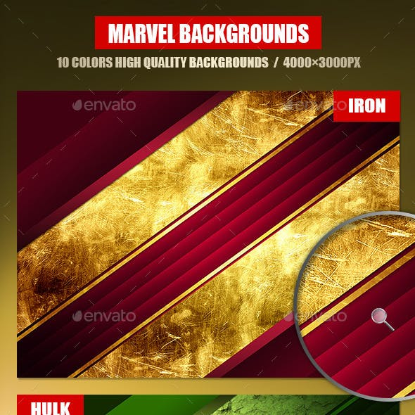 Collection Marvel Backgrounds