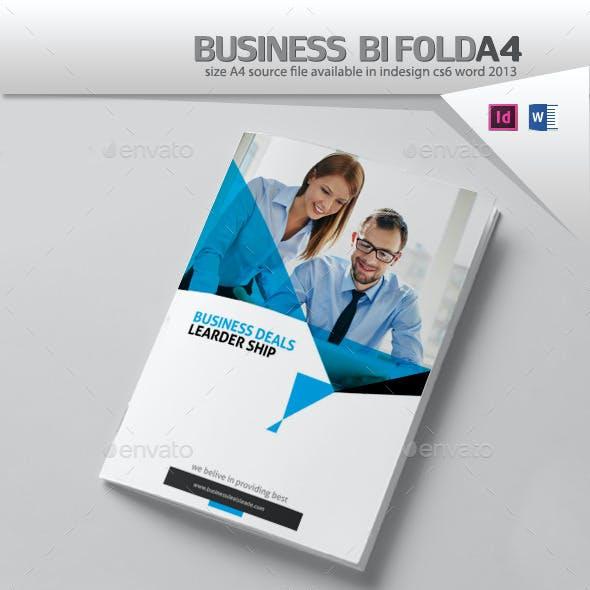 Business Brochure Design A4