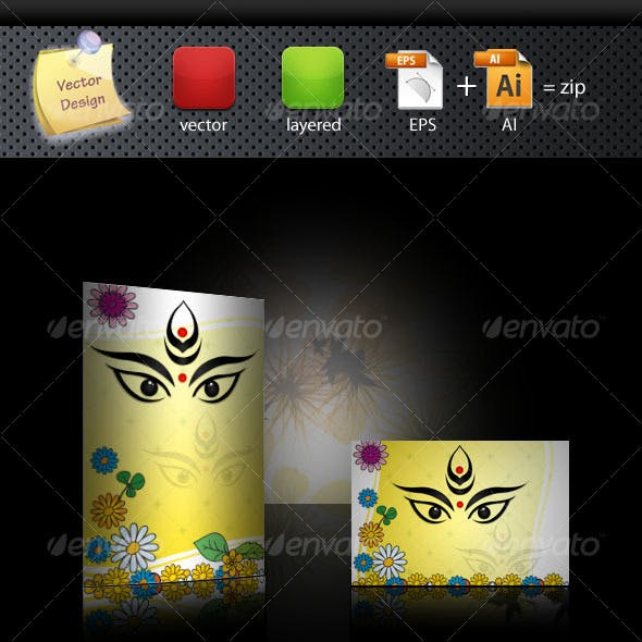 Durga Puja Graphics Designs Template From Graphicriver