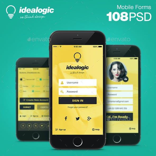 Idealogic - Mobile Forms