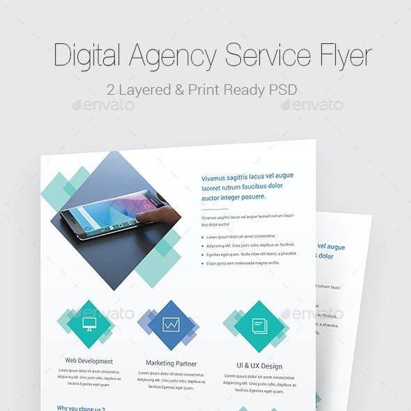 Digital Agency Flyer Templates