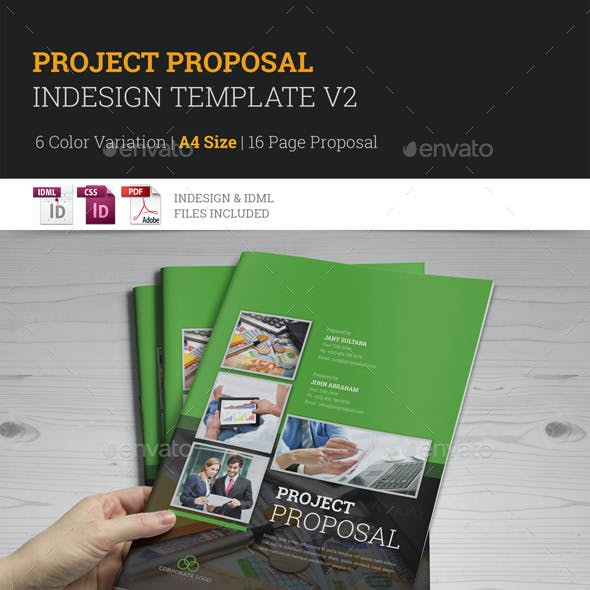 Project Proposal InDesign Template v2
